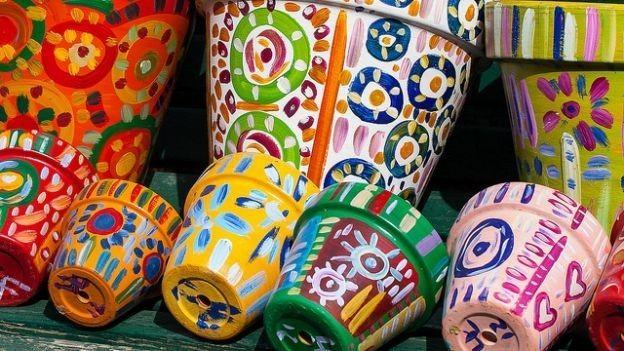 Decorazione Vasi Da Giardino : Creare e decorare vasi per il giardino milleideegreen